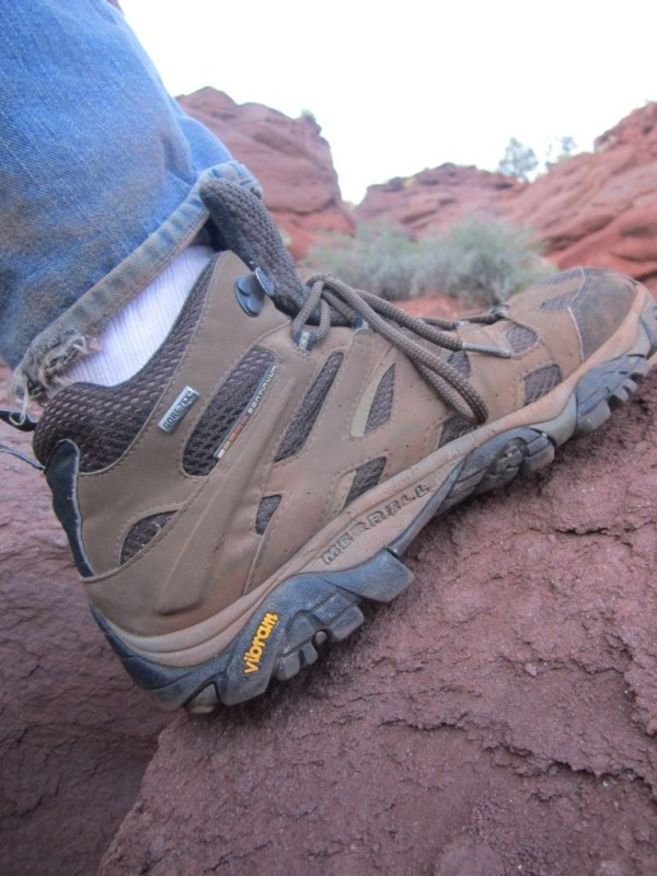 Merrell Hiking Boots in Action