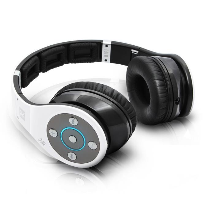 White Bluedio Headphones Laying Down