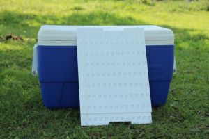 The Ice-Olate Cooler Tray Insert