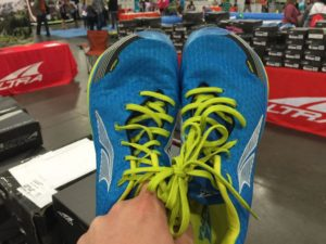 Altra running shoes - blue - Adventure Gear Fest outdoor expo