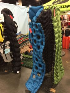 Klymit camping pads - Adventure Gear Fest outdoor expo