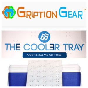 The Cooler Tray Giveaway - Gription Gear