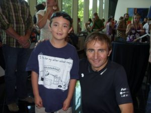 Ueli Steck and my son