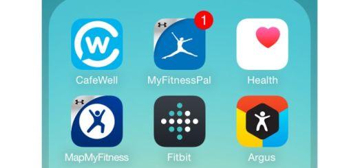 Fitness Apps - iOS Screenshot