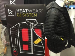 Ravean heated jacket - Adventure Gear Fest outdoor expo