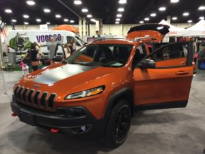 Jeep Cherokee - Adventure Gear Fest outdoor expo