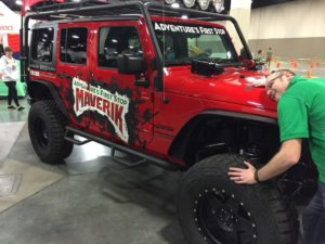 Maverick Jeep - Adventure Gear Fest outdoor expo