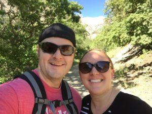 Battle Creek Falls - Selfie