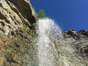 Battle Creek Falls - Waterfall-top view