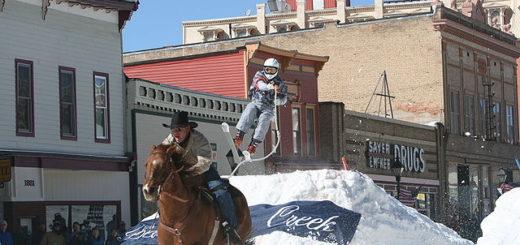 Skijouring